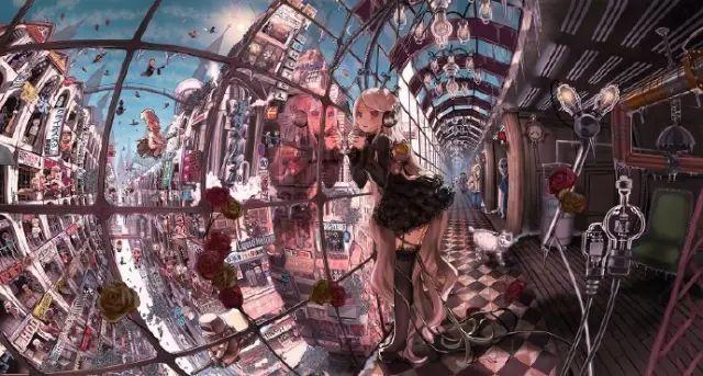 人体艺术日本p_如果你上 p 站,一定知道日本插画大神 john hhathway ,他很会画华丽的