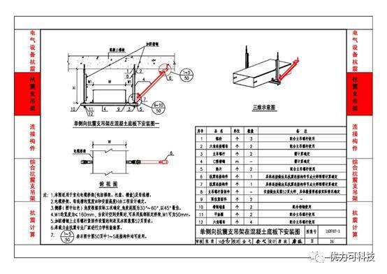 《建筑电气设施抗震安装》,与国家标准《建筑机电工程抗震设计规范》