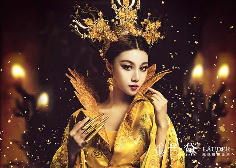 复古写真摄影· 体验古代女皇