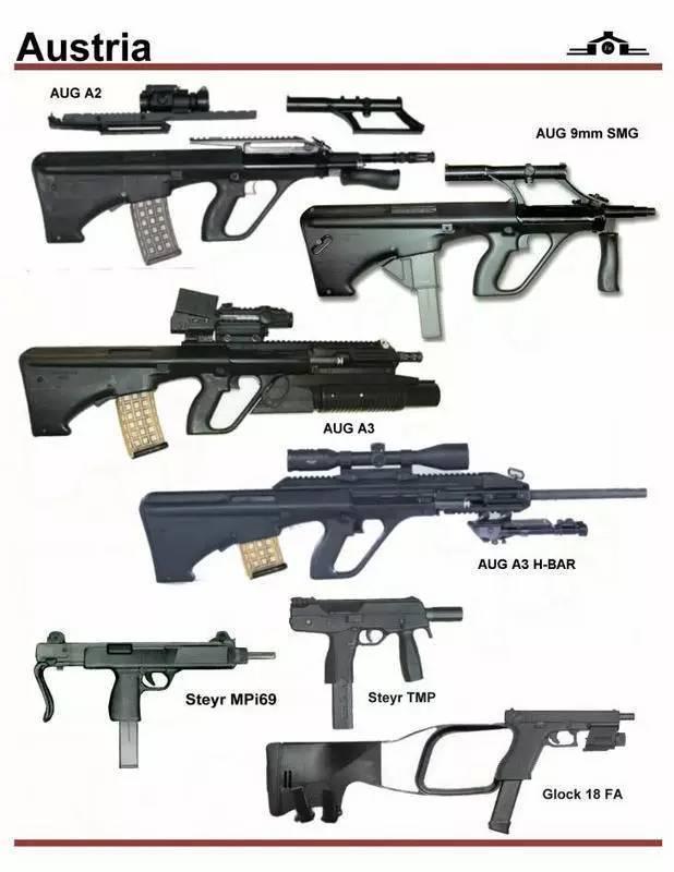 枪械库:世界枪械识别图鉴大全!
