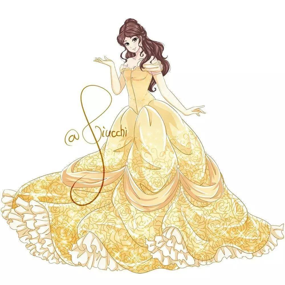 《美女与野兽》贝儿公主