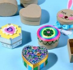 幼儿园中秋节手工集锦:月饼,月饼盒 | 巧手教育图片