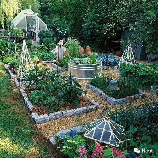 时尚 正文  作为农村别墅的典型,菜园是必不可少的.