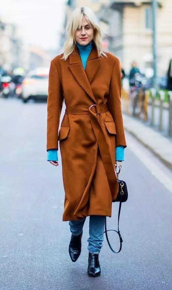 """秋冬这样搭颜色,叫""""看起来就很贵""""!"""