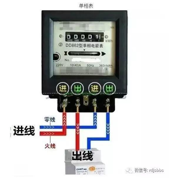 电表接线图分享