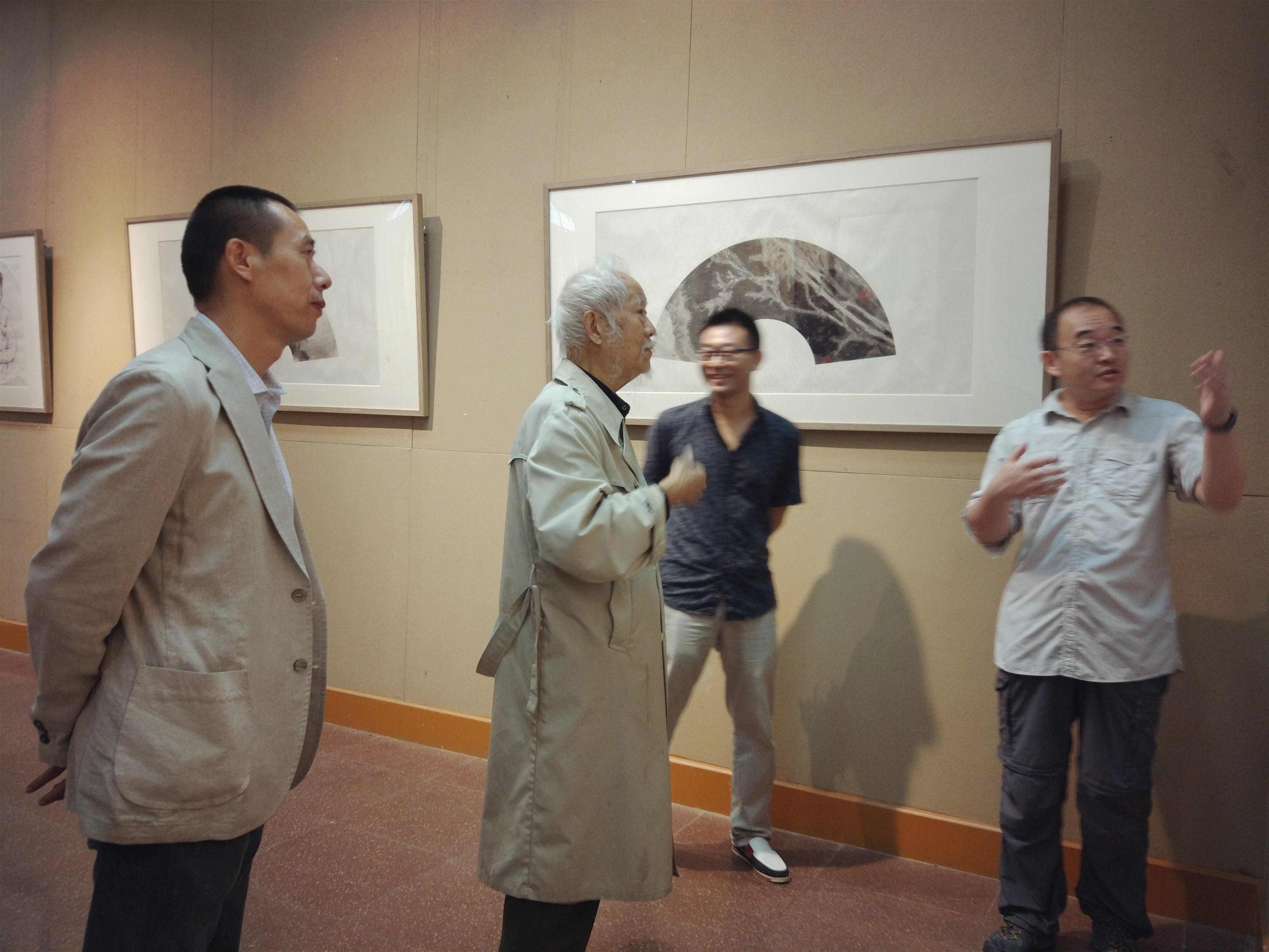 演意——巴云杰中国画作品展在河南大学举办