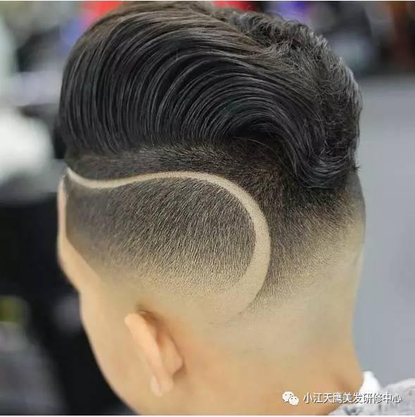 雕发小创意,让男士发型不再单调!