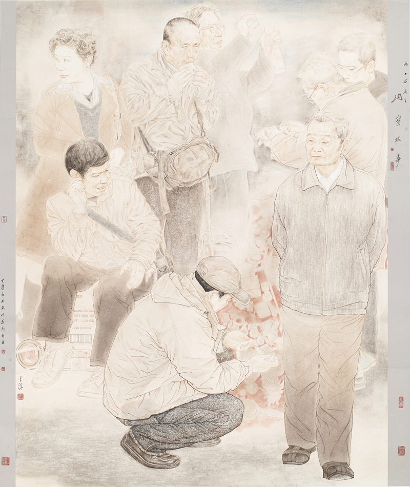 演意――巴云杰中国画作品展在河南大学举办