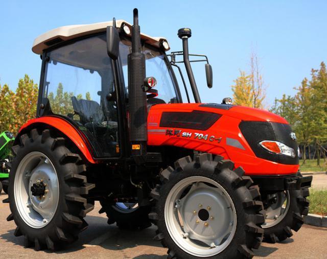 2,五征md704拖拉机,常柴发动机,同步器换挡,档位:16+8/24+12(选装爬行图片