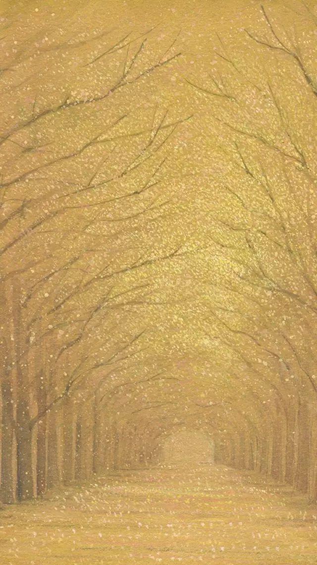 【手绘】大自然景色手绘手机壁纸
