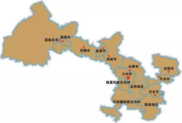 集 大美甘肃之美食地图