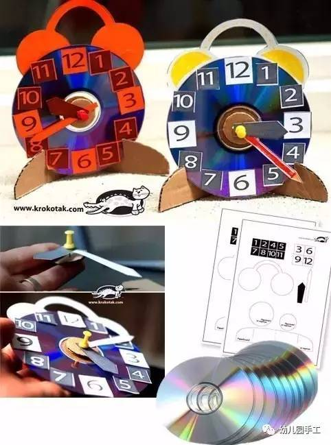 几十款幼儿园废旧cd创意手工,美到爆!图片