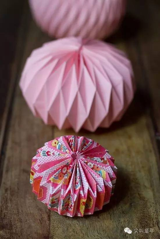 折纸花方法步骤图解