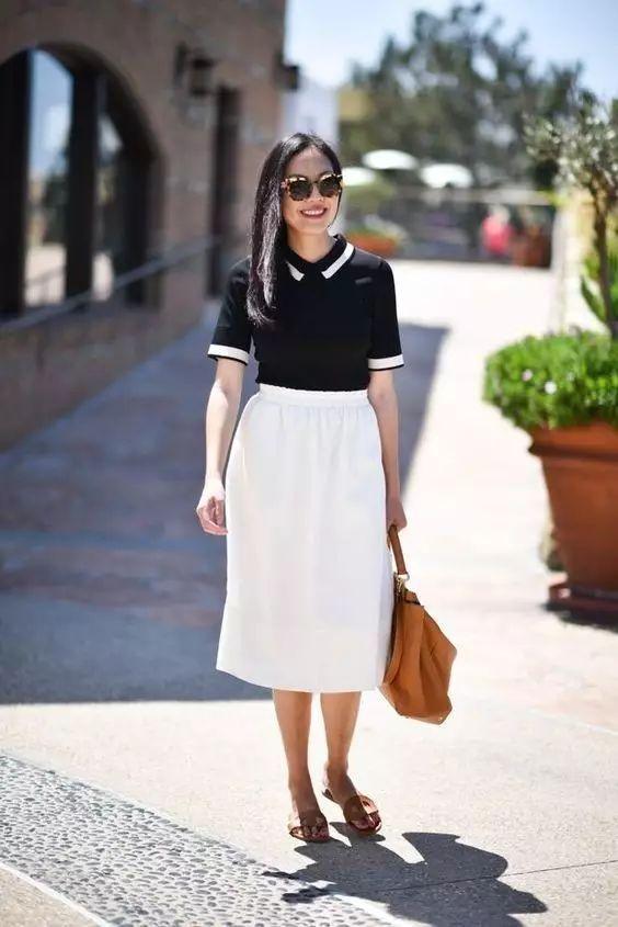 什么样的裙子让你穿出小鸟依人感?特别是肩宽粗手臂的姑娘必看!