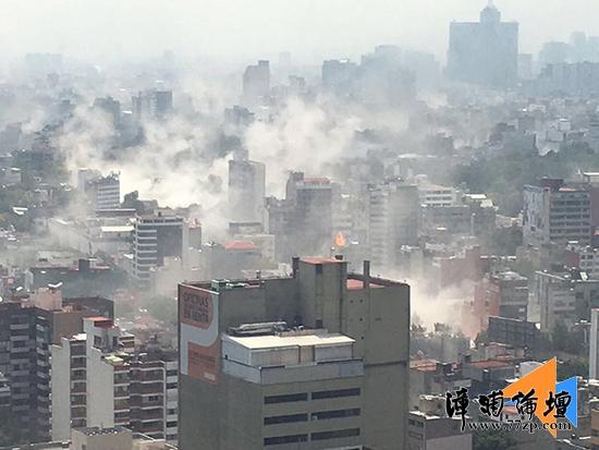 【地震二则】台湾花莲县海域发生5.5级地震 震