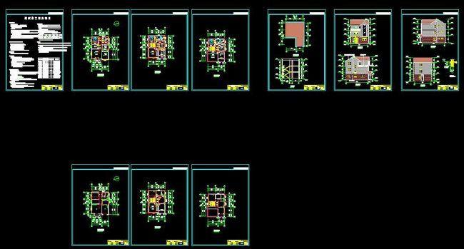 这5套三层别墅设计图价值数万,豪华又实用,收藏好自己
