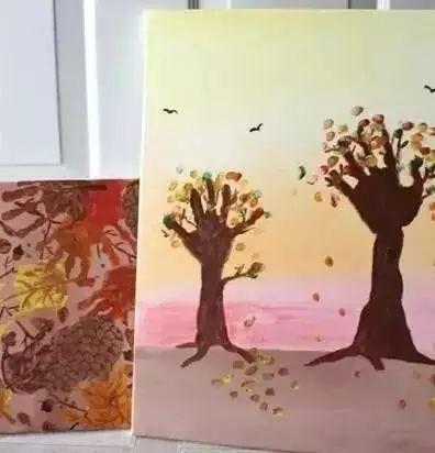 纸筒大树手工制作图片大全