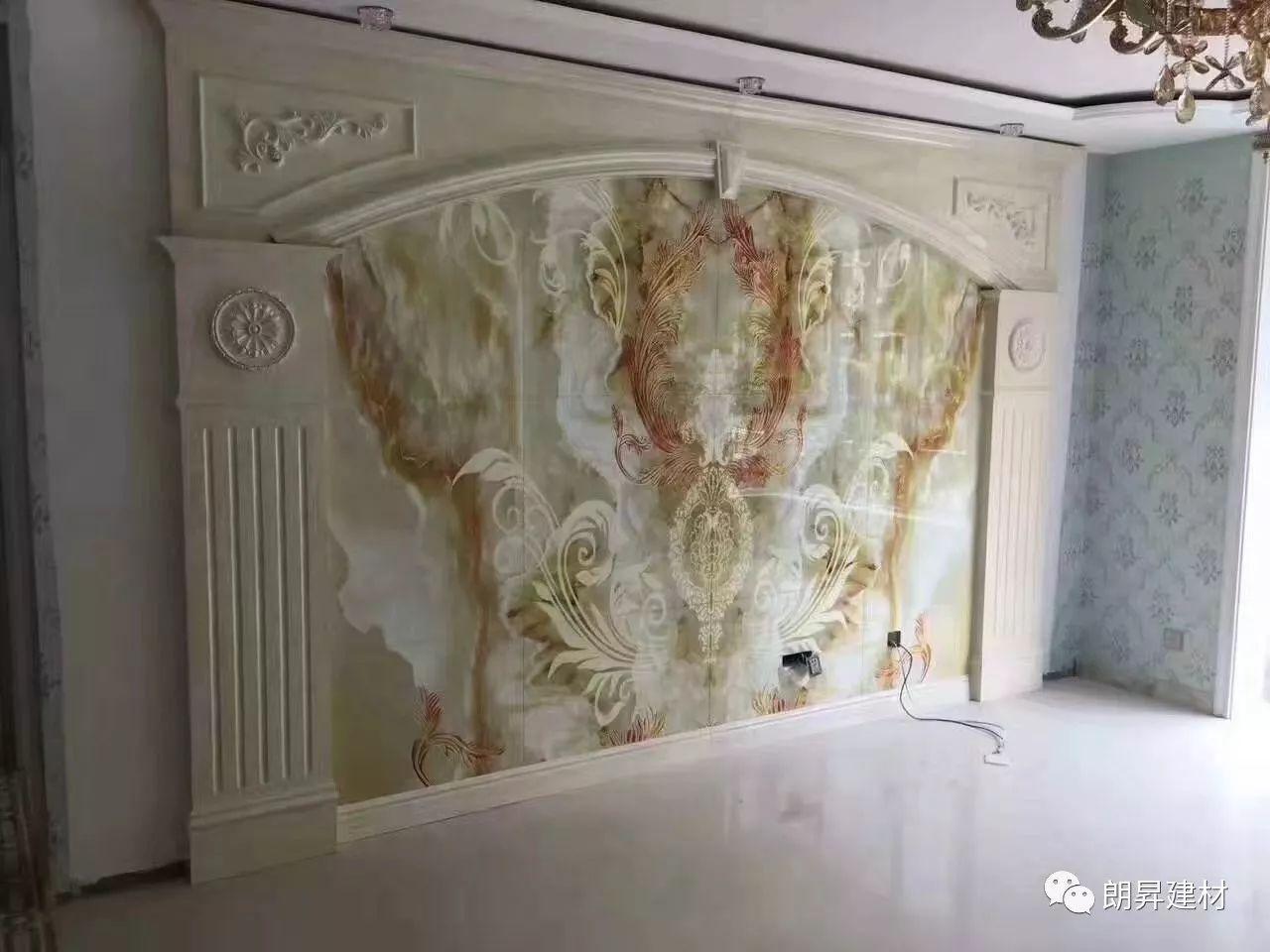 石塑UV板3D电视背景墙怎么安装 UV板安装_中科商务网