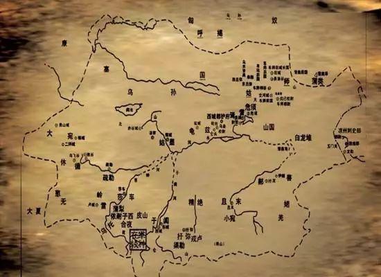 古代西域地图