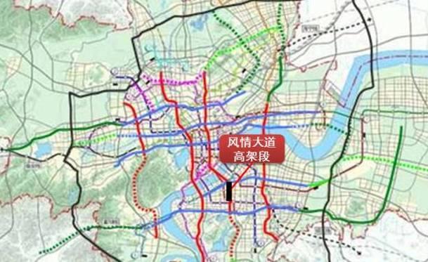 杭州高架结构图