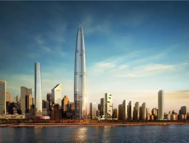 超高层建筑在武汉——武汉绿地中心