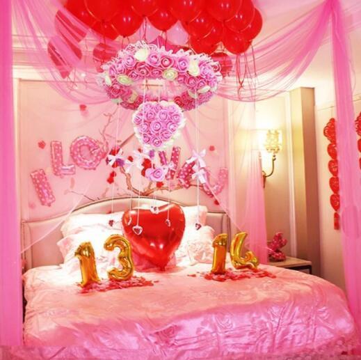 2018年婚房卧室布置图片大全 闺蜜看了想结婚图片