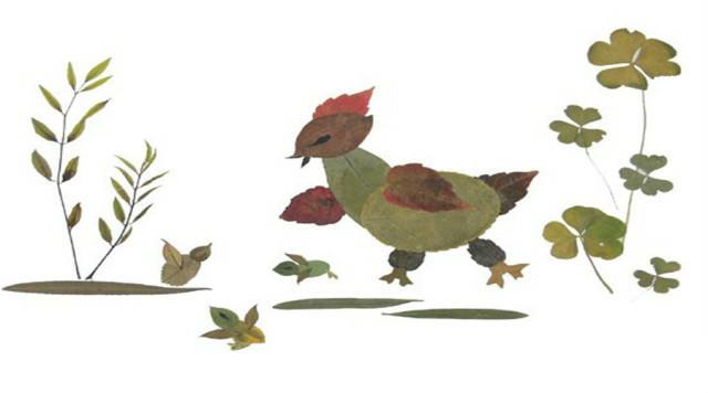 秋季树叶上的童话 幼儿园创意DIY手工 一杰手工