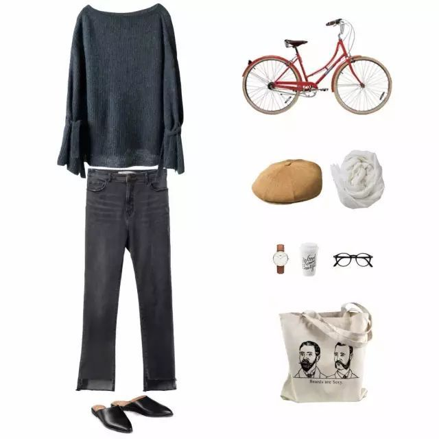55套秋季最美搭配,照着穿舒适又时髦!