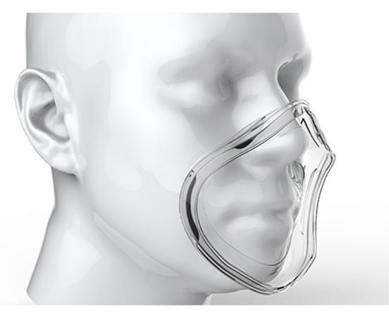 考虑到呼吸通畅性,mehow口罩内置负压密合单向阀,保证人体呼出的气体图片