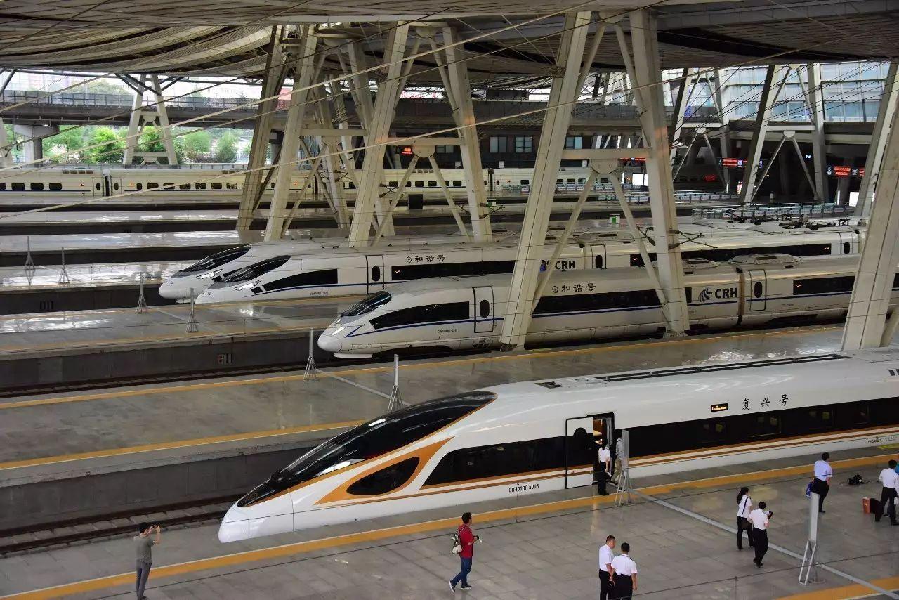 """全国铁路大调图!""""复兴号""""京沪线开跑350时速 多地新开动车、高铁线"""