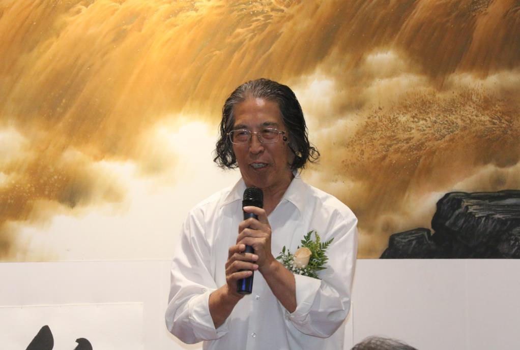 """""""大河乐章——王世利山水画展"""" 在京隆重开幕"""