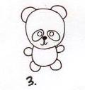 每日一画 | 4步画q版《小熊猫》,用最简单的圆圈画画!图片