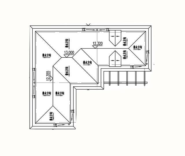 易盖房图纸:浙江舟山两层半的简欧别墅,实用简约还大气