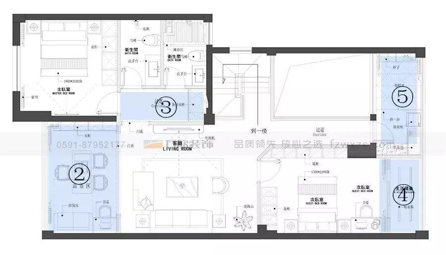 时尚 正文  区别于传统的复式楼体结构,这套公寓一层作为家庭的入户门图片