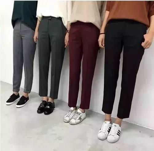 腿粗屁股大不敢穿裤子?万能烟管裤送你完美腿型!