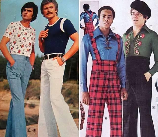 你们葛大爷的小碎花上衣,早在70年代就是流行男装了