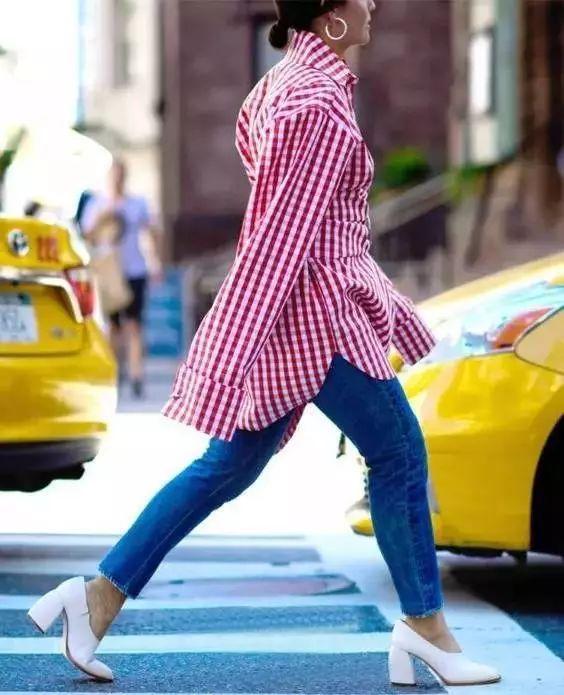 怎么穿oversize才能显瘦又显高?你可以跟唐艺昕学! 19