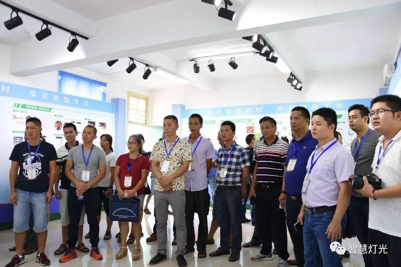 南安市2017年第四期创业致富带头人暨新型职业农民现代农业创业培训班学员到灯光村参观学习