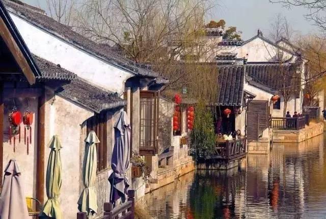 你没见过秋天的江南古镇,让你.