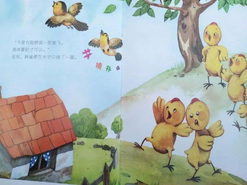 【绘本故事】飞吧,小鸡图片