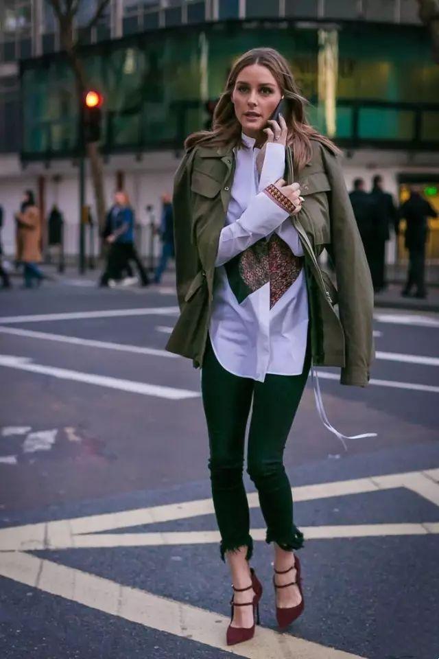 不是工装外套太普通!是你不知道穿对了有多美!