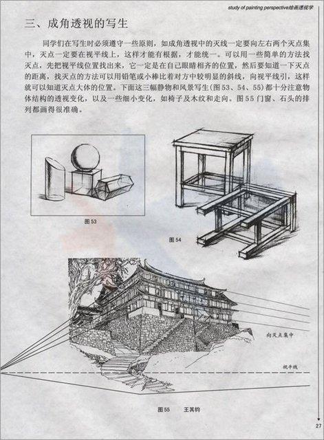 【手绘教程】绘画透视学基础教程