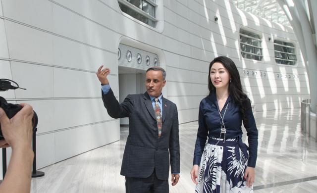 XiaoTian Narration | Talk with Nepali Ambassador to China