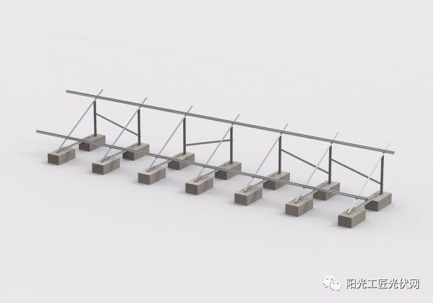 步骤三:安装光伏板