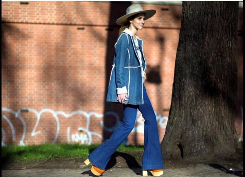热巴和林允撞衫牛仔外套,还是我最常穿的搭配!