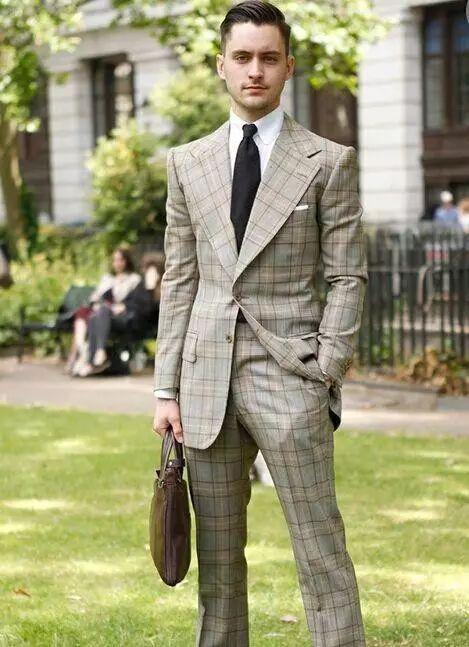 绅士最爱的格纹西装不会穿?我来教你呀 !