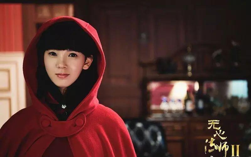 《无心法师2》女主陈瑶的八字双马尾比八字刘海还时髦