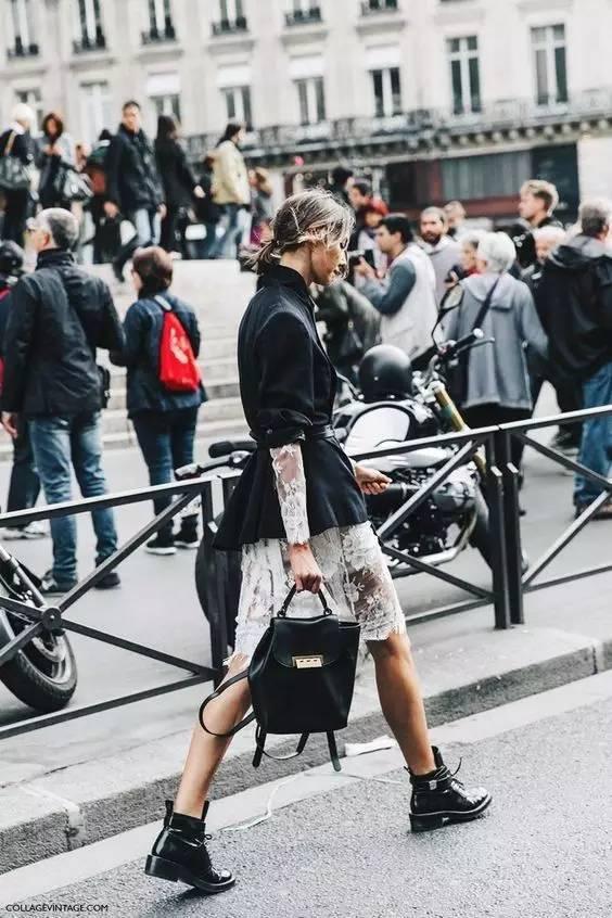 风衣+裙子,时髦又有女人味! 24