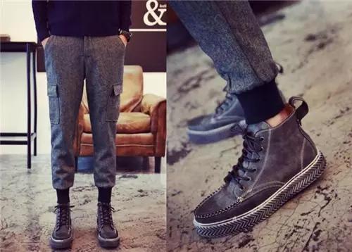 时尚休闲靴子,想要帅气就看看吧!