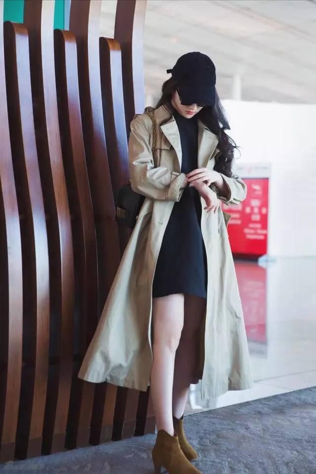 风衣+裙子,时髦又有女人味! 5